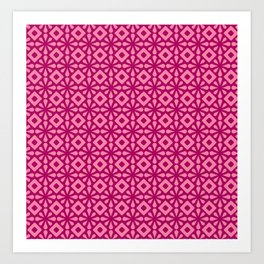 Pinkflower Art Print