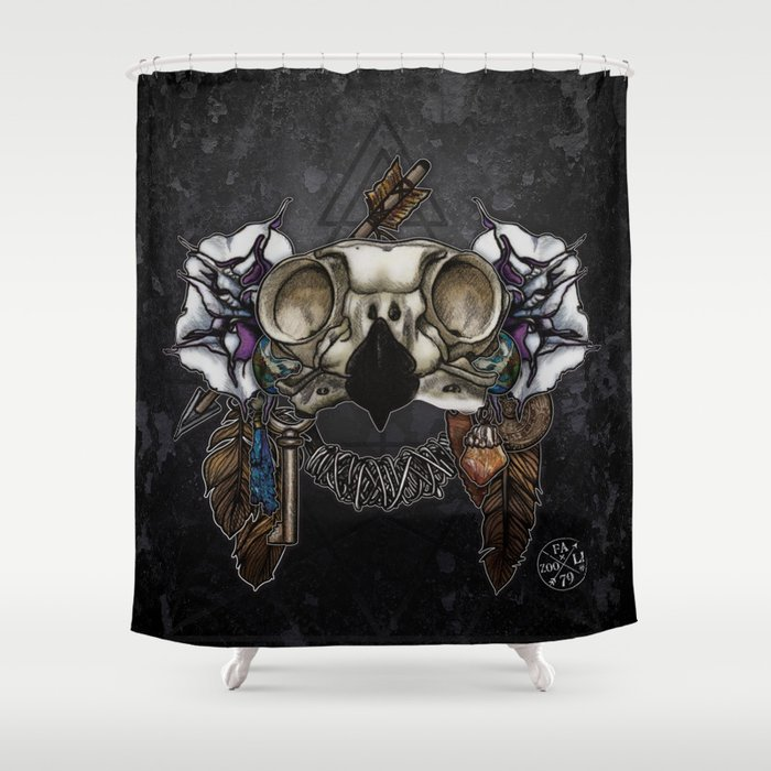 Let Us Prey: The Owl Shower Curtain