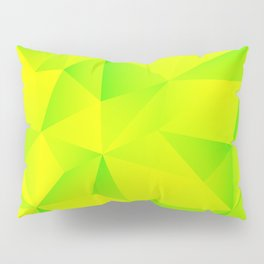 Geometry Lime Extraction Pillow Sham