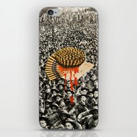 revolution iPhone & iPod Skins featuring Revolution by Michelle Fay