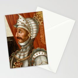 Vintage William The Conqueror Painting Stationery Cards