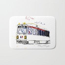 Septa Trolley Art: Philly Public Transportation Bath Mat