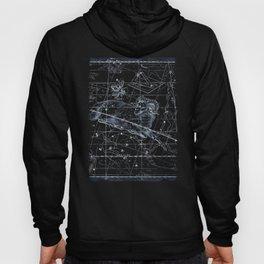 Aries sky star map Hoody