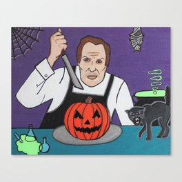 The Carving of Terrors Canvas Print