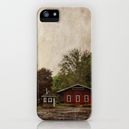 Milton Historic Railway Station iPhone Case