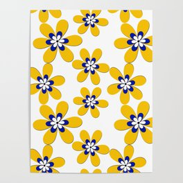 Flower yellow Poster