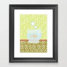 Fishy Os Framed Art Print