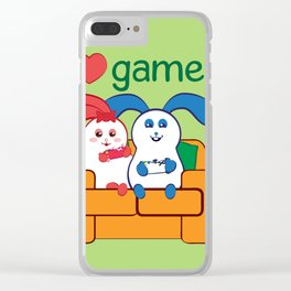 Ernest | Loves games Clear iPhone Case