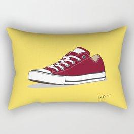 All Star Red-yellow Rectangular Pillow