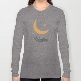 Moonlight Hand Long Sleeve T-shirt