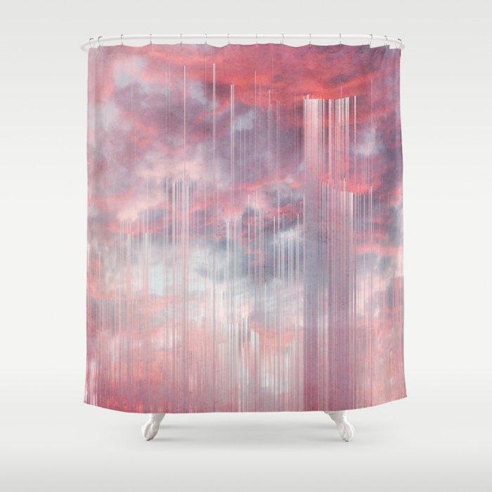 Kiss The Rain Shower Curtain By Cafelab