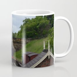 Steam Train In Yorkshire Coffee Mug