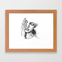 s k e t c h Framed Art Print