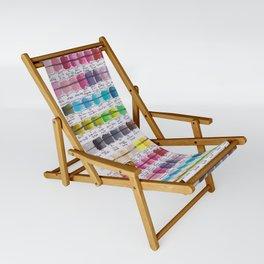 Artist Colour Palette Swatch Test Sling Chair