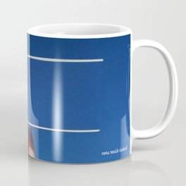 Blue is the Sky: Flying Fish Coffee Mug