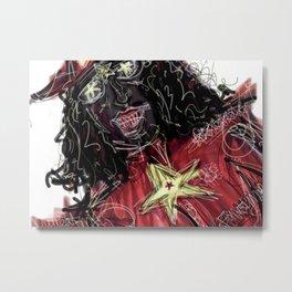 07 Metal Print