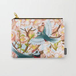 The seasons | Spring birds Carry-All Pouch