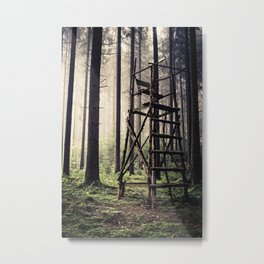 Hunting Tower Metal Print
