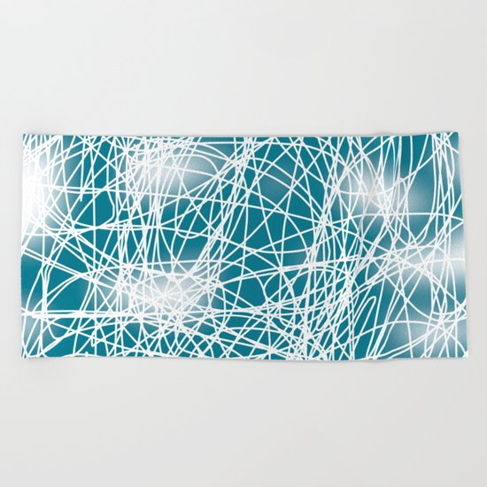 Abstract 360 Beach Towel