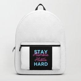 Stay Humble Hustle Hard Backpack