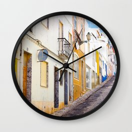 Happy street Wall Clock