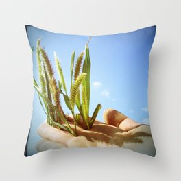 portrai Throw Pillow