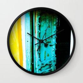 Door 1 Wall Clock