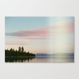 Story Book Sunset Canvas Print