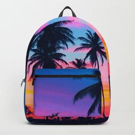 Tropical palms Backpack