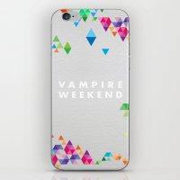 vampire weekend iPhone & iPod Skins featuring Vampire Weekend  2 by alboradas