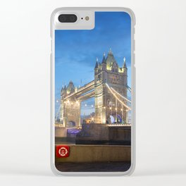 Tower Bridge, London Clear iPhone Case