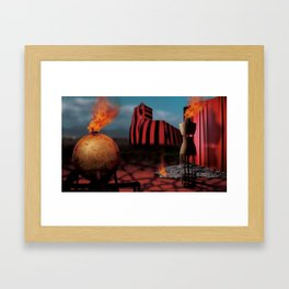Yesterday Was Worse, Tomorrow Will Be Better Framed Art Print