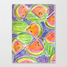 Cantina Watermelon Canvas Print