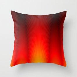 Pillars of Flame Throw Pillow
