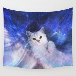 Galaxy Kitty Wall Tapestry
