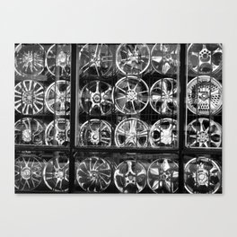 Rims Canvas Print