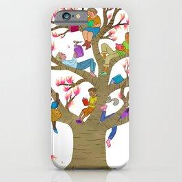 Tree Readers iPhone Case