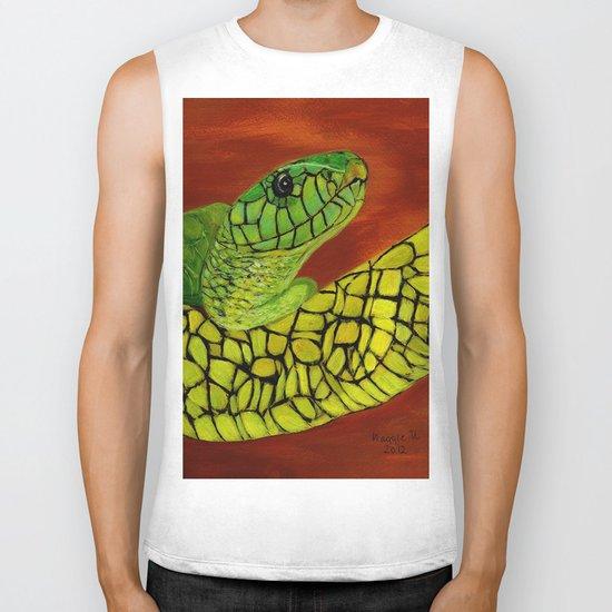 Snake Biker Tank