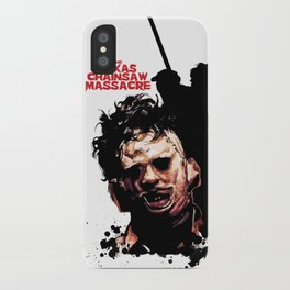 Leatherface: Monster Madness Series iPhone Case