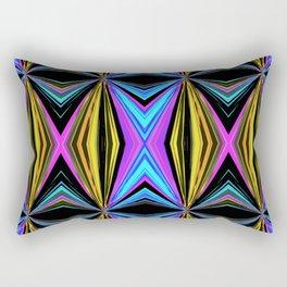 Funky Diamond Print Rectangular Pillow