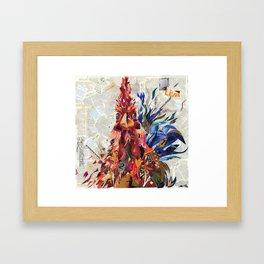 Righteous rooster Framed Art Print