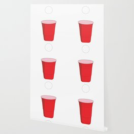 Beer Pong Illustration Wallpaper