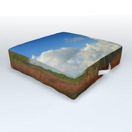 Swamp Life Outdoor Floor Cushion