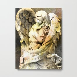 Angels We Have Heard On High Metal Print
