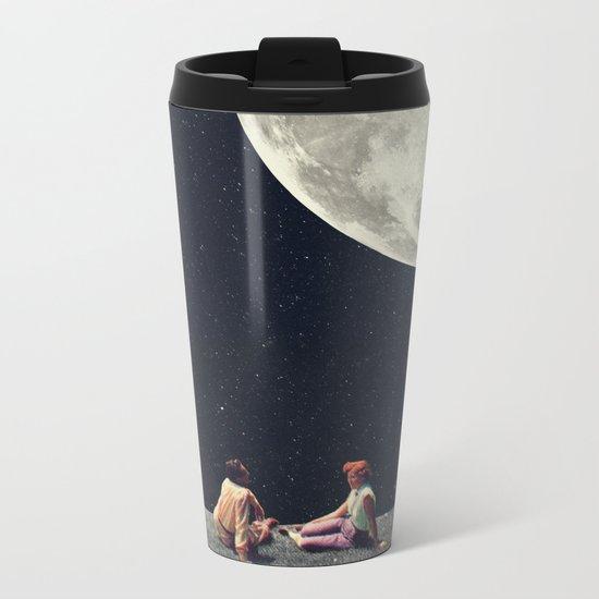 I Gave You the Moon for a Smile Metal Travel Mug