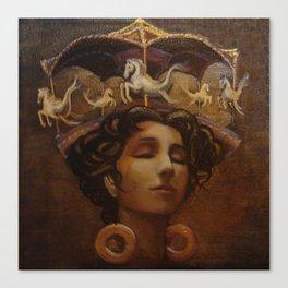 Brass Ring Dream Canvas Print