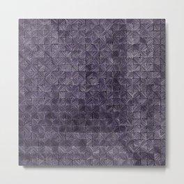 Ink Stitch: Amethyst (light) Metal Print