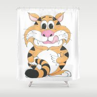 gizmo Shower Curtains featuring GIZMO by ZOOKEEPER!