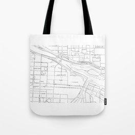 East Village #YYC Tote Bag