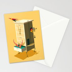 Love falling down Stationery Cards